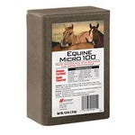 Equine Micro 100 Ag Salt Apple Flavor 4 lb. Brick