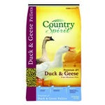 Country Spirit Duck and Geese Feed Pellets 16% Protein 40 lb. Bag