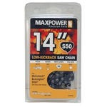 MaxPower 14 in. Chain Saw Chain Loop S50