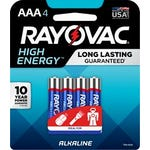 Ray O Vac® Alkaline Battery AAA 4 Pack