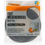Weather Strip Multi Purpose 1 1/4 in. x 3/16 in.