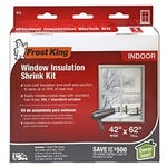 Window Shrink Insulation Kit 42 in. x 62 in. Plastic