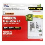 Window Shrink Insulation Kit 62 in. x 210 in. Plastic