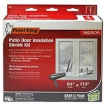 Patio Door Insulator Kit 84 in. x 110 in.