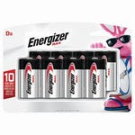 Energizer® Battery D 8 Pack